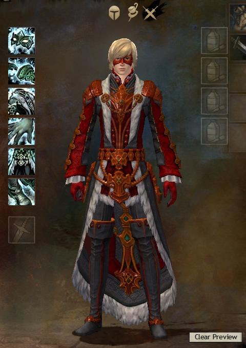 Guild Wars 2 Armor - Human - Male - Karma - Light