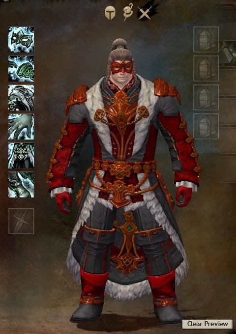 Guild Wars 2 Armor - Norn - Male - Karma - Light