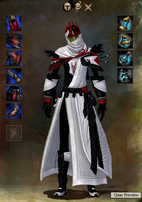 Guild wars 2 armor sylvari male whispers light